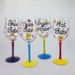 Babe Wine Glasses