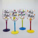 Babe Wine Glasses