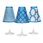 Glass Shade Barcelona Blue