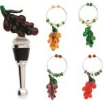 Grape Stopper Charm Set