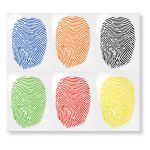 Fingerprint Glass Markers